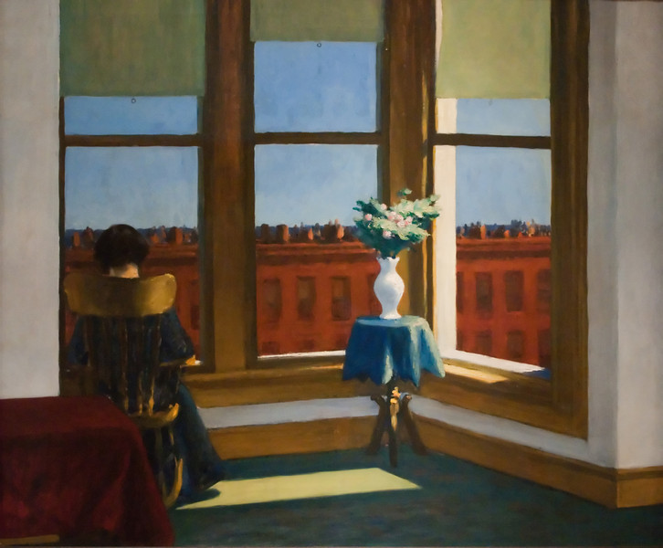 Edward Hopper<br /> Room in Brooklyn<br /> 1932