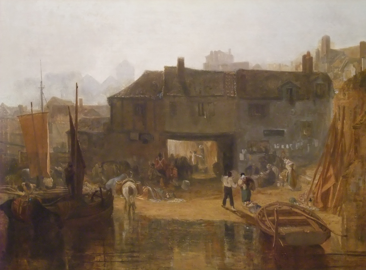 Saltash with the Water Ferry<br /> Joseph Mallord William Turner (English, 1775–1851)<br /> 1811. Oil on canvas. 35 3/8 x 47 1/2 in.<br /> Metropolitan Museum of Art