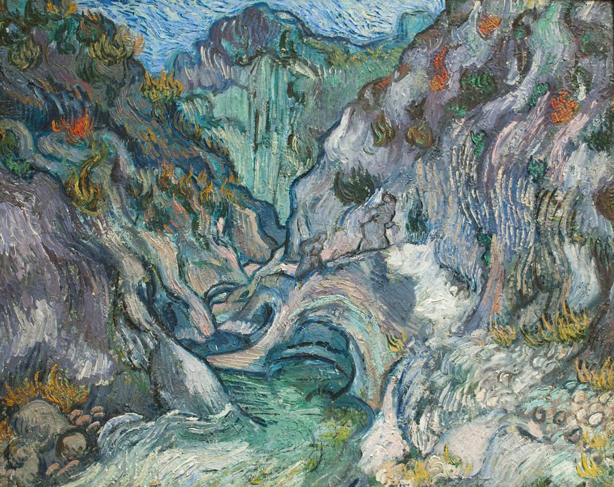 Vincent van Gogh<br /> Ravine<br /> 1889
