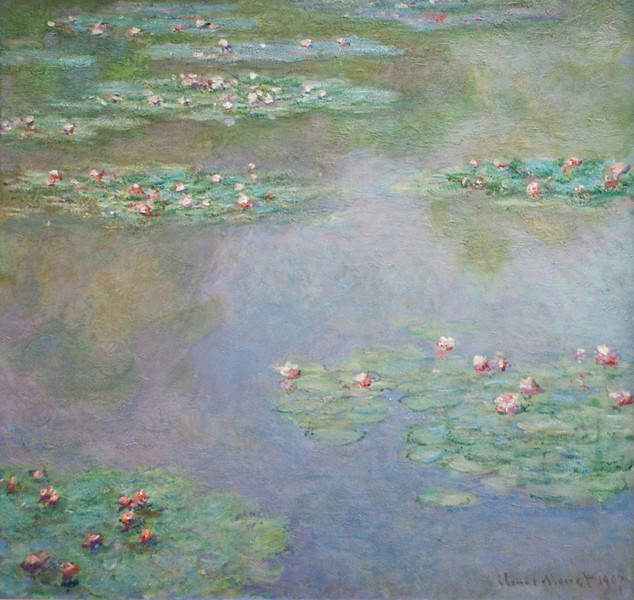 Claude Monet<br /> Water Lilies<br /> 1907