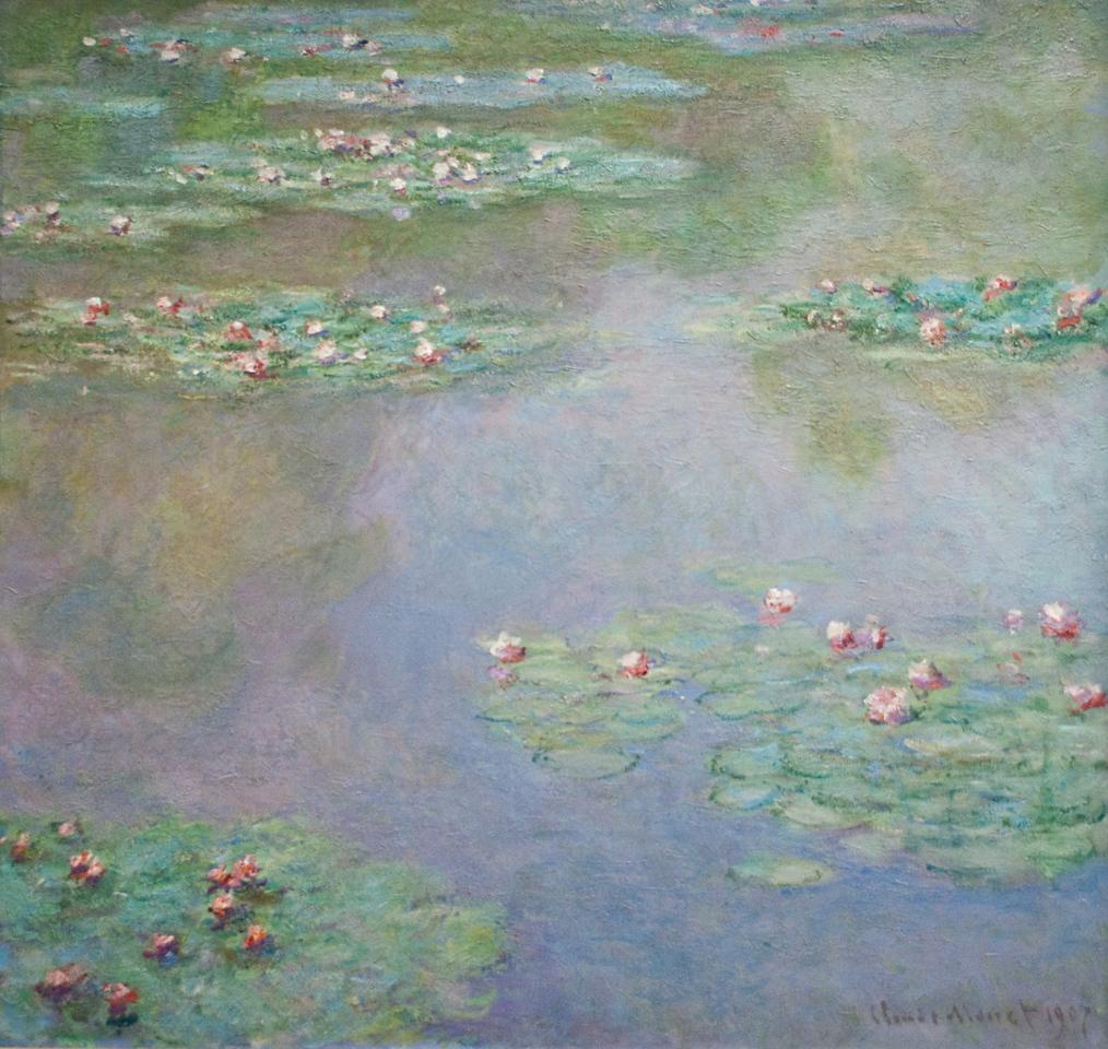 Claude Monet<br /> Water Lilies<br /> 1907