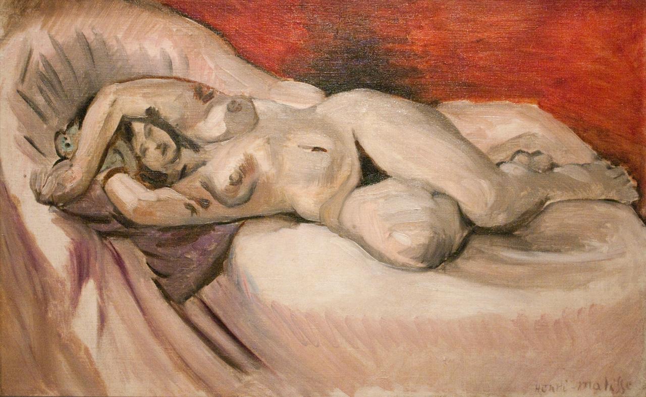 Henri Matisse<br /> Reclining Nude<br /> 1925