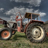 David Brown tractor, rural Finland.