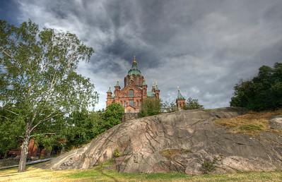 Uzpenski Cathedral, Helsinki, Finland HDR.
