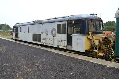 Class 73 73130 with Eurostar coupling insitu still  30/08/15.