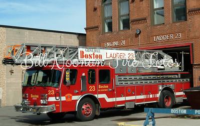 "Ladder Co. 23..1996 Emergency One 110 foot stick....""Da Pride of Grove Hall"""
