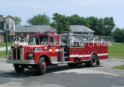 Ladder on Long Island, former Whitman Maxim Ladder truck....