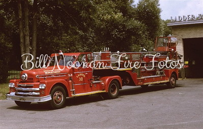 Ladder Co. 30 also with protection added for the men...a 1962 Seagrave