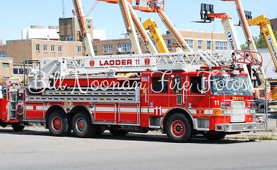 Ladder Co. 11..Pierce 100 foot stick, formerly Ladder Co. 1