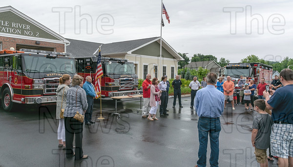 Fire Dept. Little River Rd Sub-Station ribbon cutting June 23, 2018