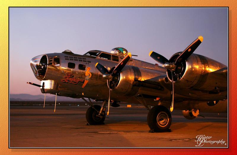 B-17 Sentimental Journey,  Fox Field,  Lancaster California