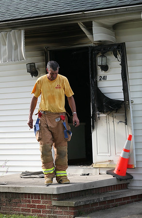 Fire at 241 Forest in laGrange