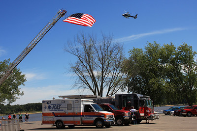 North Liberty Fire Department fund raiser included a visit from AirCare  North Liberty, Iowa