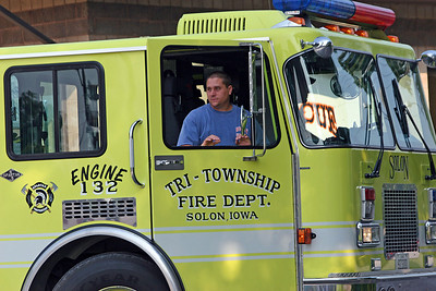 Terry McAtee Terry is both a volunteer firefighter and a career firefighter for Cedar Rapids