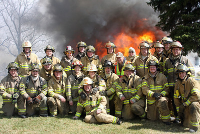 BROTHERS ALL Firefighters from Solon, Iowa
