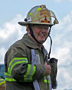 Fire Chief Dan Smith Dan is both a volunteer firefighter and a career firefighter in Iowa City.