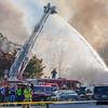Harrisonburg Fire  Tower 1 masterstream opperations