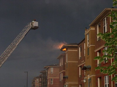 Aurora 3-alarm apartment fire