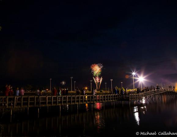 Fireworks Lakeside Park