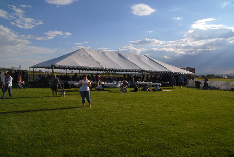 Ahhhhh..The Beer tent!