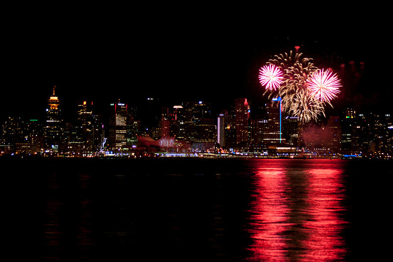 Fireworks, Vancouver