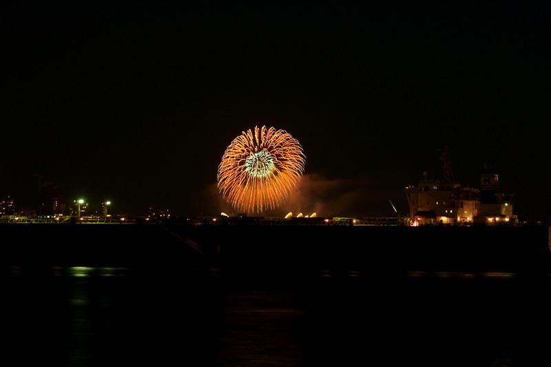 Fireworks, Vancouver