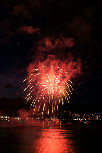 2011 Canada Day Fireworks, Vancouver