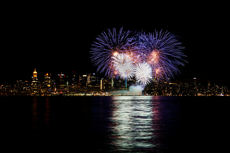 2014 Canada Day Fireworks, Vancouver