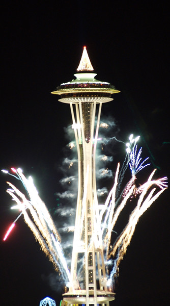 Fireworks@the Needle