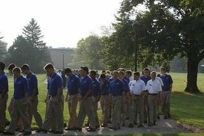 First All-School Mass 2014