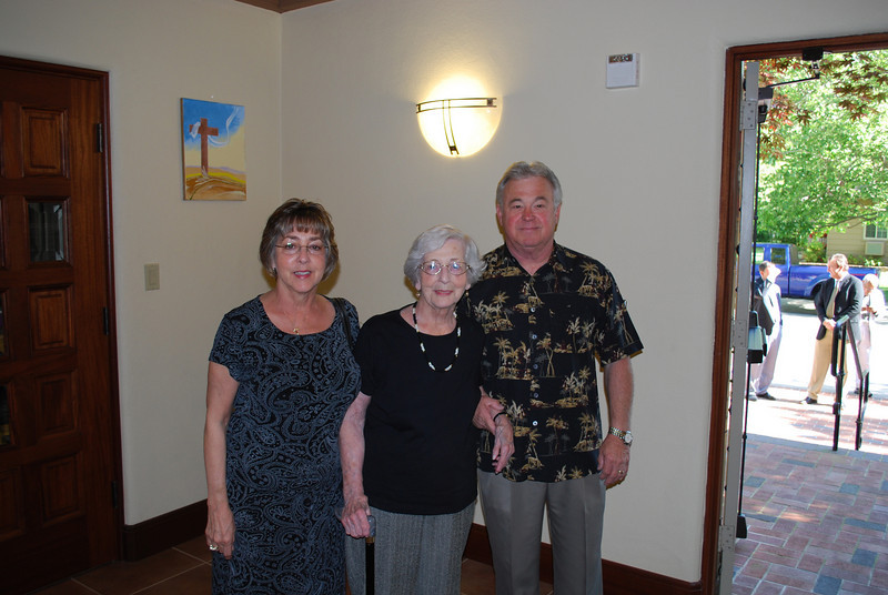 Grandma and Grandpa Schumacher and Great Grandma Souza