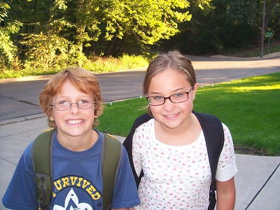 First Day of School 2007