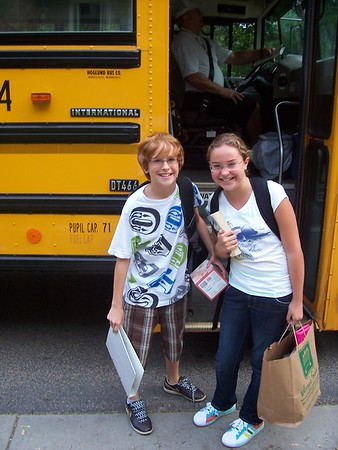 First Day of School 2008