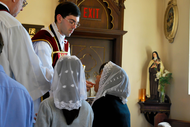 Father Polley's First Mass