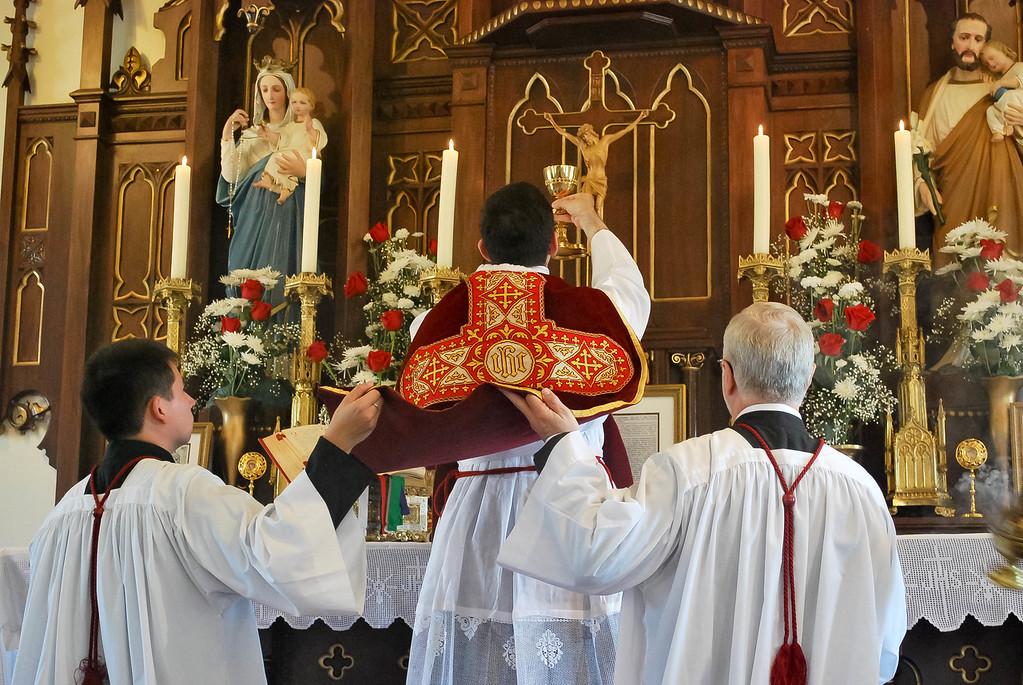 Agnus Dei, qui tollis peccata mundi, dona nobis pacem.