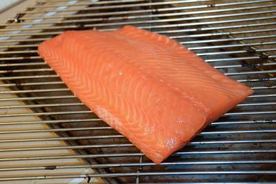 First Smoked Salmon