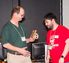 041-Brian reciving award for outstanding volunteer service to the First organization in alberta