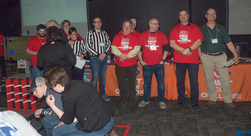 040-Volunteers with 5 or more years of service to the First Robotics organization view three