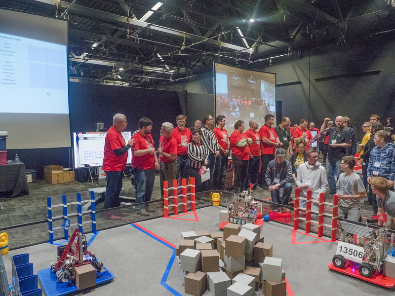 038-Volunteers with 5 or more years of service to the First Robotics organization view one