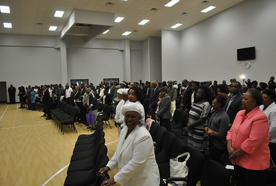 First Worship Service in New Facility