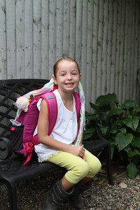 First day of School!! A little Marin montage. My big 7 year old starting Second Grade!!