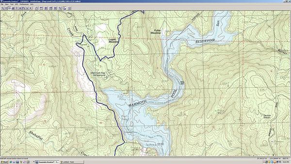 Fish Creek to Edison Lake for Mr. Thompson...