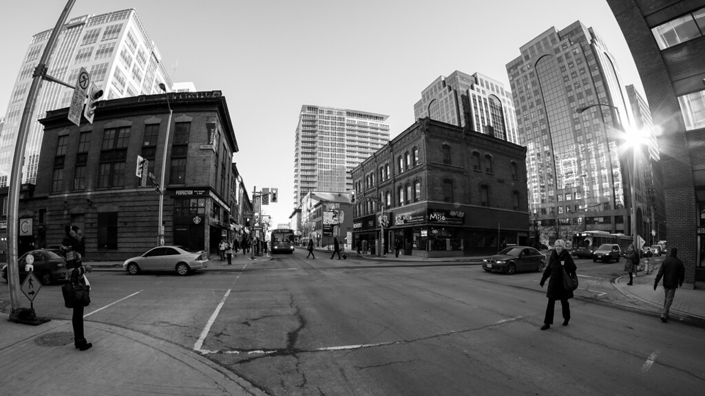 Bank Street and Slater, a Friday afternoon