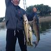 Kim's catch, 1st day with new rod, July 2013
