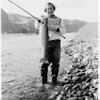 Jim Bates caught this 13-pound steelhead on the Snake River near Clarkston. Later that day, he caught a 27-pounder, his largest steelhead ever. The Washington record was caught that afternoon by an angler in a nearby boat. Coincidentally, the Idaho record was caught the same day on the Clearwater, roughly 20 river miles east of where the Washington record was caught. Both records still stand.