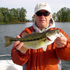 Spotted Bass, Lake Lanier, October 2009.
