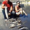 Anne and Dave Christensen with a mess of trout from Hells Canyon.