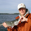 Striper, Lake Lanier, October 2009.