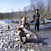 Yours truly and Frank  Amato with a spring chinook from Washington's Kalama River.