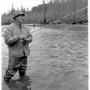 Ted Williams -- yes, THAT Ted Williams -- tested his skill at steelheading with me on the North Fork of the Stillaguamish River.Georg Meyers, my boss at The Seattle Times, asked me to take Ted  fishing. I told Ted I am not a baseball fan, but soon learned he was a passionate hunter. He told of hunting in the same Zambia camp where I had hunted four years earlier. He also told me that he was a fan of my father.